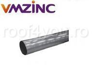 Burlan circular Ø100 titan zinc natural VMZINC 2ml1