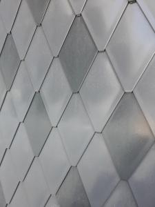 ECO-R line - solzi metalici din titan zinc Anthra model romboidali, 40buc/mp1
