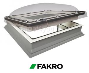 Fereastra cu cupola pentru acoperis terasa Fakro DMC-C P2 60/600
