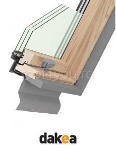 Fereastra de mansarda 55/78 DAKEA KAV1500 Better Energy [1]