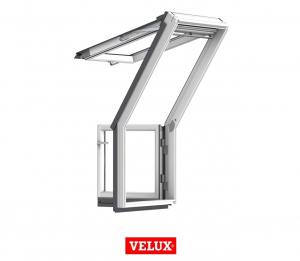 Fereastra de mansarda pentru acces pe terasa Velux GEL-VEA 30651
