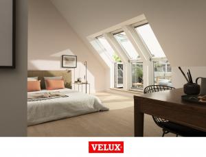 Fereastra de mansarda pentru acces pe terasa Velux GEL-VEA 30658