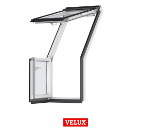 Fereastra de mansarda pentru acces pe terasa Velux GEL-VEA 30650
