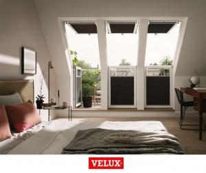 Fereastra de mansarda pentru acces pe terasa Velux GEL-VEA 306511