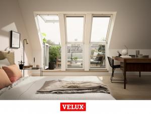 Fereastra de mansarda pentru acces pe terasa Velux GEL-VEA 30656