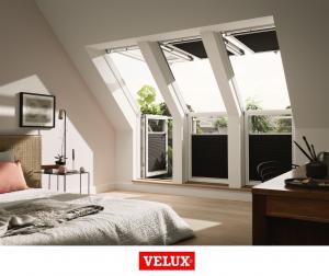 Fereastra de mansarda pentru acces pe terasa Velux GEL-VEA 306510