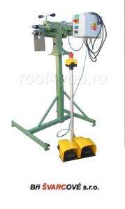 Masina de sertizat electrica cu stand si convertor de frecventa S250 / 50F Bri Svarcove2