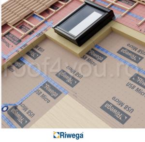 Membrana de control vapori Riwega USB Micro 155, 50x1.5=75mp1
