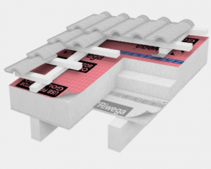Membrana de difuzie pentru acoperis Riwega USB Protector Gold 330, 40x1.5=60mp [2]