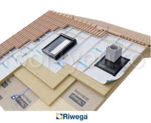 Membrana de difuzie pentru acoperis Riwega USB Weld 345 AS, 30x1.5=45mp1