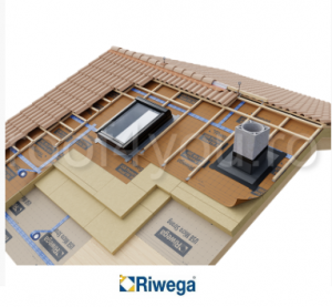 Membrana de difuzie pentru acoperis Riwega USB Protector Head FH 200 SK, 50x1.5=75mp1