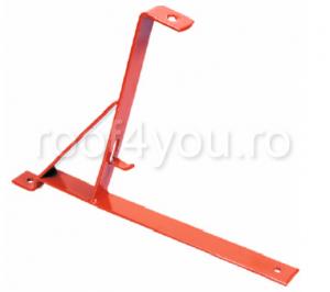 Pachet parazapada grilaj pentru tigla metalica ROOFS / RAL 80123