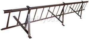 Pachet parazapada grilaj pentru tigla metalica ROOFS / RAL 80120