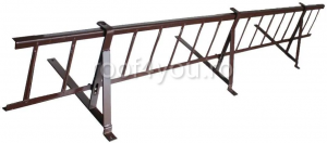 Pachet parazapada grilaj pentru tigla metalica ROOFS / RAL 60200