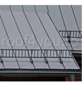 Pachet parazapada grilaj pentru tabla click sau dublu faltz / RAL 80121