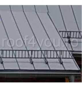 Pachet parazapada grilaj pentru tabla click sau dublu faltz / RAL 70161