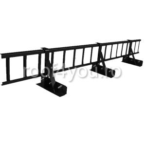Pachet parazapada grilaj pentru tabla click sau dublu faltz / RAL 80040