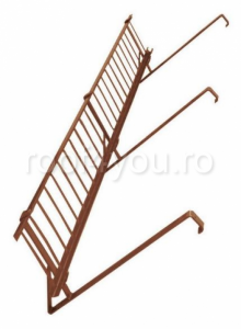 Pachet parazapada grilaj pentru tigla ceramica sau beton ROOFS / RAL 80040