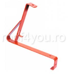 Pachet parazapada grilaj pentru tigla ceramica sau beton ROOFS / RAL 70163