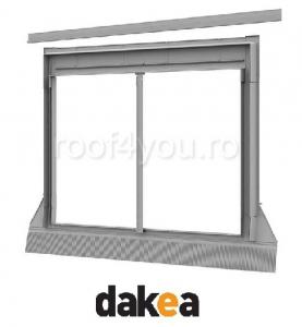 Rama de etansare 55/98 Combi cu profil ingust DAKEA UBX0