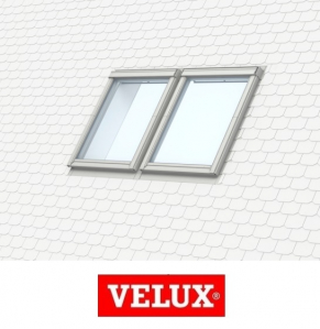 Rama de etansare combi Velux EKS-S2 - 55/98 pentru invelitori plate [0]
