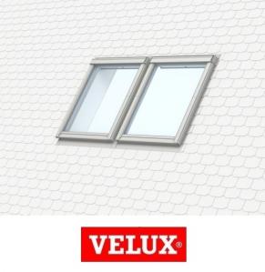 Rama de etansare combi Velux EKS-S2 - 66/140 pentru invelitori plate0