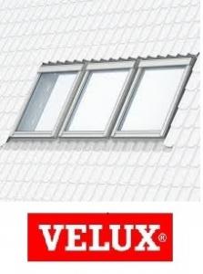 Rama de etansare combi Velux EKW-W3 - 55/78 pentru invelitori ondulate0