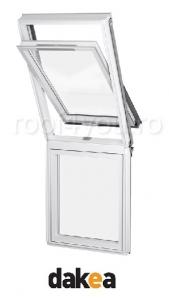 Rama de etansare plana 78/98 pentru fereastra verticala fixa DAKEA KSN [1]