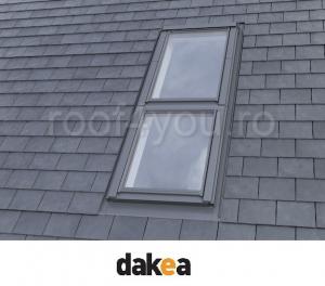 Rama de etansare plana 78/98 pentru fereastra verticala fixa DAKEA KSN [2]