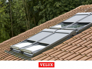 Roleta exterioara electrica 66/118 Velux SML Standard3