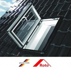 Fereastra mansarda Roto R3, 74/98 toc din pvc, izolatie WD, deschidere stanga sau dreapta2