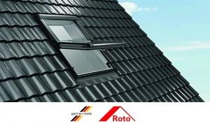Ferestre mansarda Roto R45, 54/78, toc din lemn, deschidere mediana, geam dublu5