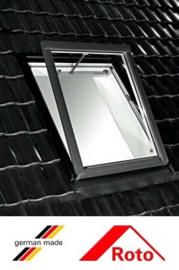 Roto R58, 65/140, toc din lemn, izolatie WD, deschidere verticala, geam dublu1