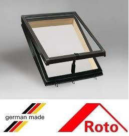 Roto R27, 45/55, toc din lemn, deschidere mediana, geam dublu [1]