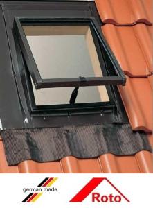 Roto R27, 45/55, toc din lemn, deschidere mediana, geam dublu [3]