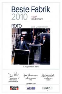 Fereastra mansarda Roto R69G, 54/98, toc din pvc, izolatie WD, deschidere mediana, geam triplu10
