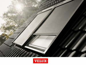 Rulou exterior parasolar Velux Standard MSL, Gri 55/782