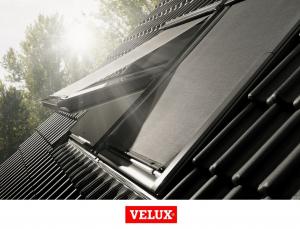 Rulou exterior parasolar Velux Standard MHL, 114/140, Gri8