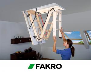 Scara modulara din lemn LWK Komfort 55/1112