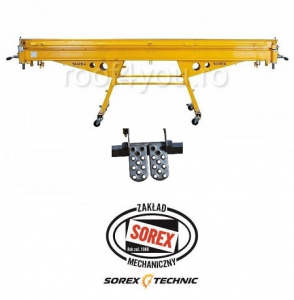 Set abkant manual latime 2m / 1.00 mm ZRS 2160 si pedale Sorex [0]