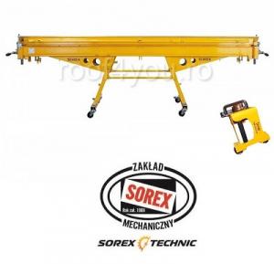 Set abkant manual latime 2m / 1,00 mm ZRS 2160 si taietor Sorex [0]
