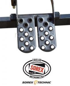 Set abkant manual latime 3m / 0,7 mm ZRS 3160 cu pedale, masa de lucru si taietor Sorex [4]
