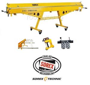 Set abkant manual latime 3m / 0,7 mm ZRS 3160 cu pedale, masa de lucru si taietor Sorex [0]