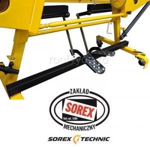 Set abkant manual latime 3m / 0,7 mm ZRS 3160 cu pedale, masa de lucru si taietor Sorex [5]