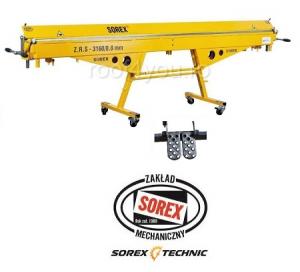 Set abkant manual latime 3m / 0,7 mm ZRS 3160 si pedale Sorex [0]