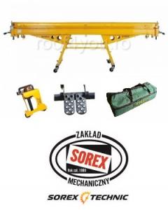 Set abkant manual lungime 2.36 m / 0,8 mm ZRS 2360 cu pedale, husa si taietor Sorex1