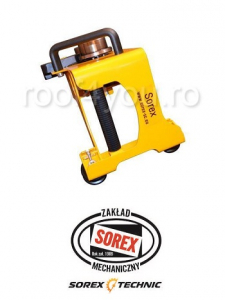 Set abkant manual lungime 2.36 m / 0,8 mm ZRS 2360 cu pedale, husa si taietor Sorex4
