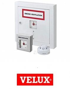 Kit de actionare pentru evacuare fum Velux KFX 2100