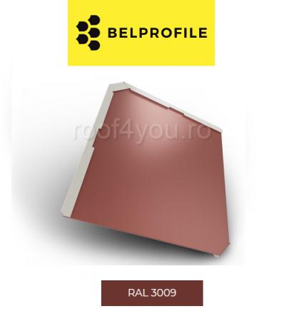 "Solzi BELPROFILE QUADRA, suprafata ""BigStone"", grosime 0.5 mm, RAL 30090"