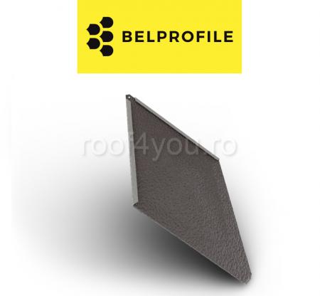 "Solzi BELPROFILE ROMBO, suprafata ""Aluminiu Embosat"", grosime 0.7 mm, RAL 80170"